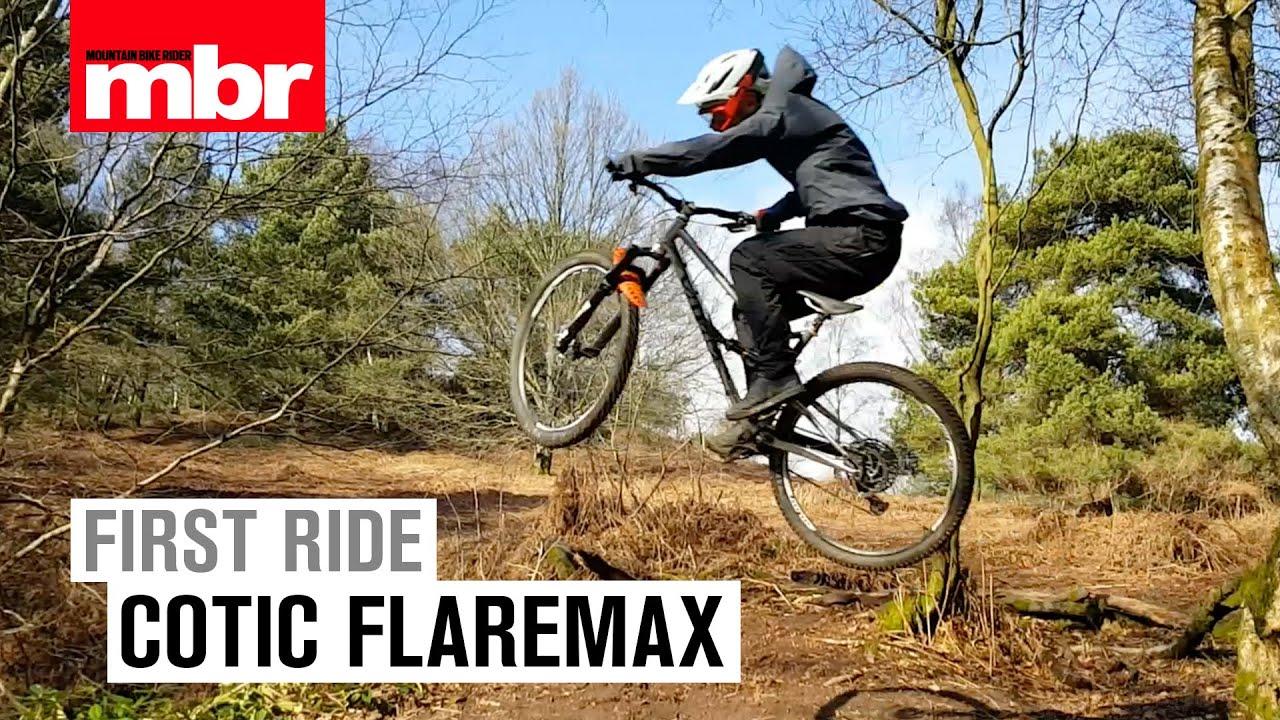 521af769924 Cotic FlareMax | First Ride | MBR Magazine. Mountain Bike Rider
