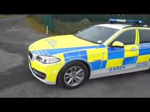 BMW Traffic Corp vehicle for An Garda Siochana - Irish Police