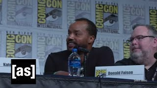 Breckin and Donald Talk Clueless | SDCC 2019 Robot Chicken Panel | adult swim