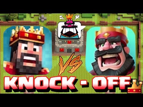 CLASH ROYALE CLONE KNOCK OFF!?!