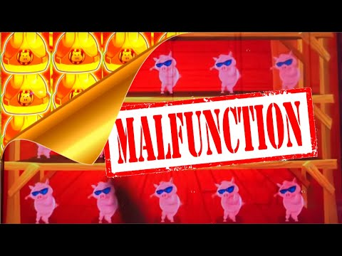 😱 THE PIGS ARE NAKED AGAIN! 💥 WTF? 💥 Slot MALFUNCTION Leads To BIG WINS At Prairies Edge Casino