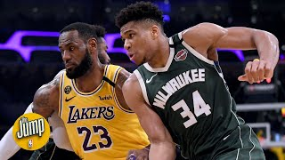 Rachel nichols, dave mcmenamin, richard jefferson and kendrick perkins debate on the jump if los angeles lakers should chase best record for 2019...
