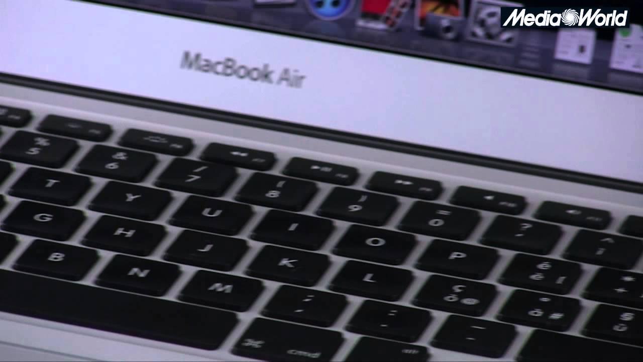 Presentazione Macbook Air 13 Youtube
