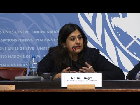 UN: IS likely committing genocide against Iraq's Yazidi minority