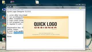 Quick Logo Designer 5.0.0 أحسن و أسرع برنامج خاص بالتصاميم