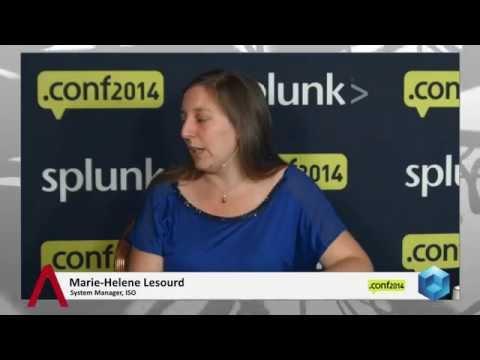 Marie-Helene Lesourd - Splunk.conf 2014 - theCUBE  - #SplunkConf