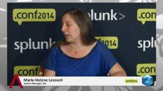 Marie-Helene Lesourd - Splunk.conf 2014 - theCUBE