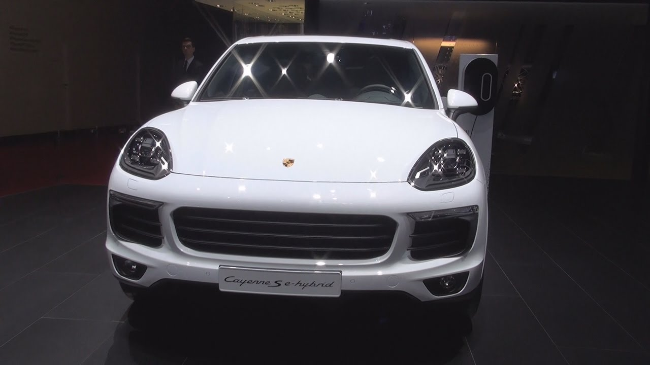 porsche cayenne s e hybrid platinum edition 2017 exterior and interior in 3d youtube. Black Bedroom Furniture Sets. Home Design Ideas