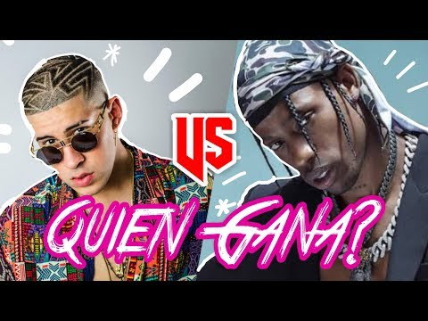 TRAP LATINO VS TRAP AMERICANO / BAD BUNNY ANUEL VS TRAVIS SCOTT XXXTENTACION ¿QUIEN GANA?
