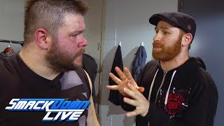 Kevin Owens thanks Sami Zayn: SmackDown LIVE, Feb. 20, 2018