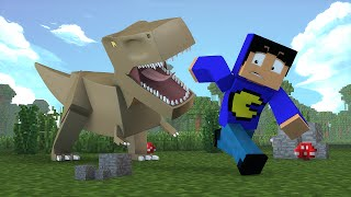 Minecraft: MUNDO DOS DINOSSAUROS! (Mapa)