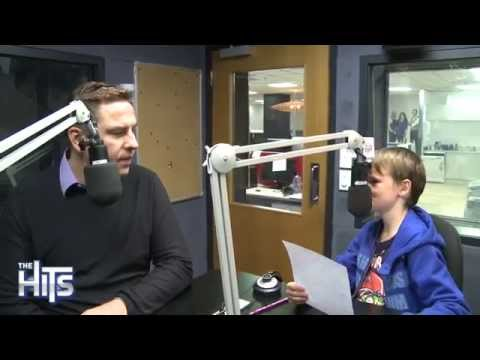 Flynny's Son Interviews David Walliams From Little Britain!