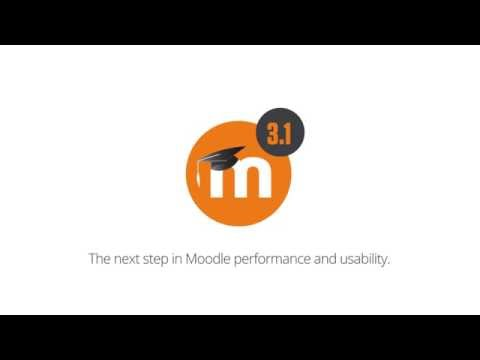 Moodle 3.1 Overview