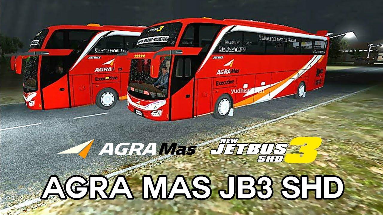 Agra Mas Shd V2 Jetbus 3 Link Livery Bussid