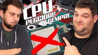 Le CPU (processori) peggiori di sempre!