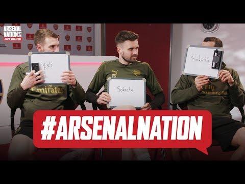 WHO IS THE SMARTEST AT ARSENAL?   Jenko, Rambo & Micki   Arsenal teammates