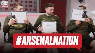 WHO IS THE SMARTEST AT ARSENAL? | Jenko, Rambo & Micki | Arsenal teammates