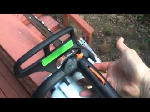 stihl ms 192 tc badass chainsaw youtube. Black Bedroom Furniture Sets. Home Design Ideas