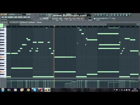 KOAN Sound & Asa - Starlite (Piano Remake) (FL Studio)