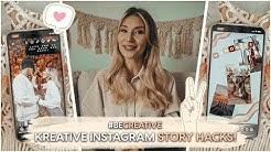 TOP 9 INSTAGRAM STORY HACKS und Basics | AnaJohnson