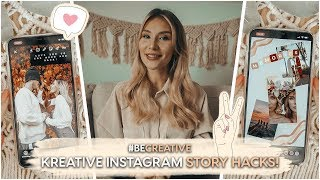 TOP 9 INSTAGRAM STORY HACKS und Basics | AnaJohnson