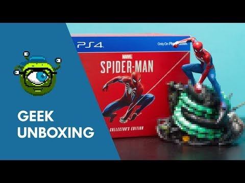 Marvels Spider-Man PS4 Collectors Edition Unboxing