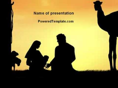 Birth of jesus powerpoint template by poweredtemplate youtube birth of jesus powerpoint template by poweredtemplate toneelgroepblik Image collections