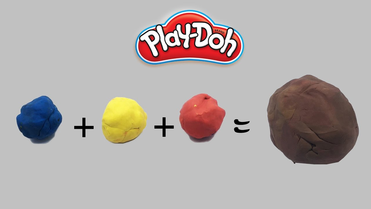 Mixing Brown Color Playdoh How To Mix Playdough Colors Playwithme 92 You