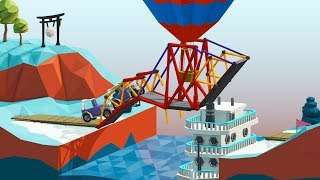 This Bridge Literally Floats From A Balloon in Poly Bridge