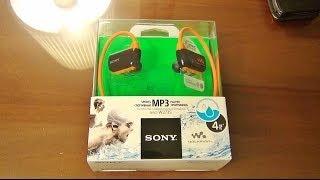 ГаджеТы: достаем из коробки наушники-плеер SONY Walkman Sports Player NWZ-W273S(Если вы не видели видео с историей покупки этих наушников SONY Walkman Sports Player - вам сюда http://youtu.be/X0mo8dv_Vpc, а посмотр..., 2014-07-07T06:15:02.000Z)