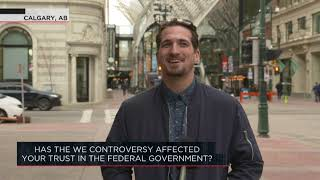 Has the We controversy affected your trust in the federal government? | Outburst