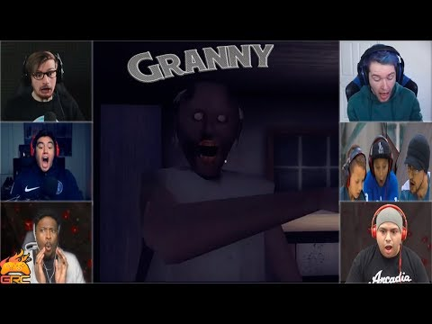 Gamers Reactions to the Granny Beating You...