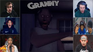 Gamers Reactions to the Granny Beating You With a Baseball Bat | Granny