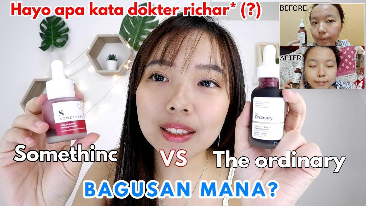 Review Jujur Somethinc Aha Bha Pha Peeling Solution The Ordinary Aha Bha Peeling Solution Youtube