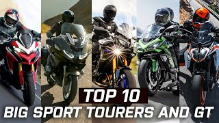 The Top 10 Big Sport Tourers and GT That Go Further Than Ever in 2021   Visordown.com
