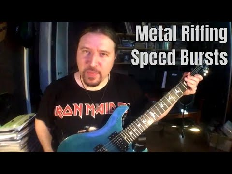 Extreme Metal Rhythm Guitar Speed Bursts: ShredMentor Challenge of the Day #87