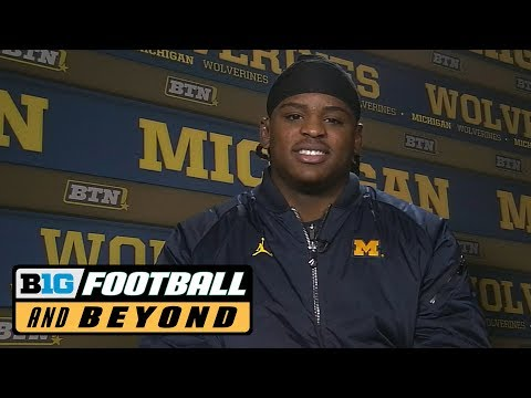 Devin Bush Defensive Player of the Year Interview | Big Ten Football