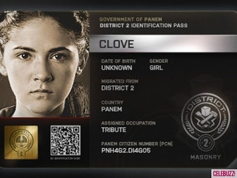 The Hunger Games - Clove (Isabelle Fuhrman) Scenes