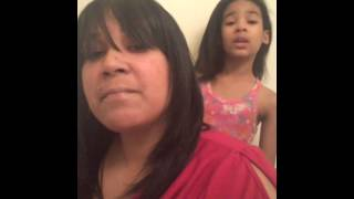 9 y/o Brooklynn & Mommy sing (Uncle Reece - Until I Pass out) cover