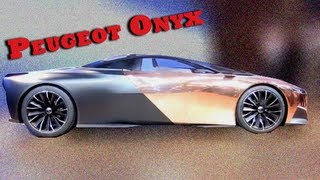 Peugeot Onyx - Mondial de Paris 2012