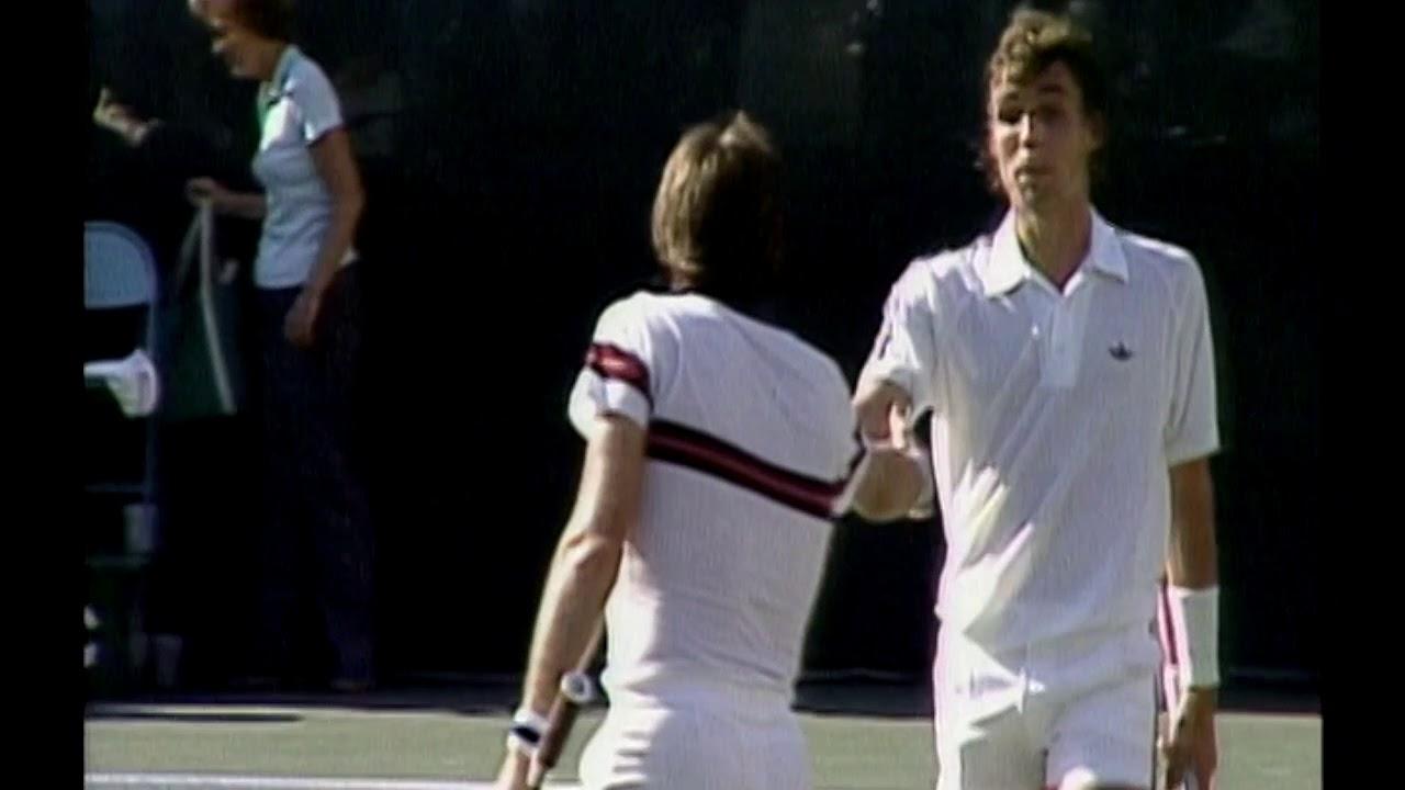 Davis Cup 1981 Jimmy Connors vs Ivan Lendl