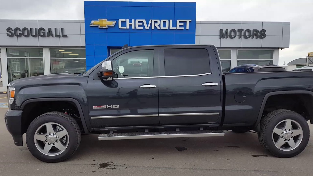 2017 Gmc Sierra 2500hd Slt All Terrain 4x4 Crew Cab 180038