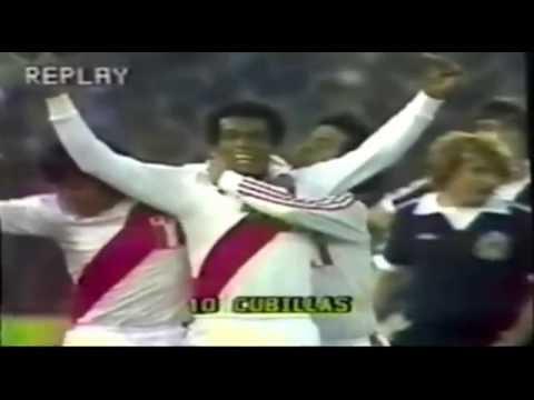 Perú 3 vs 1 Escocia - Mundial Argentina 78