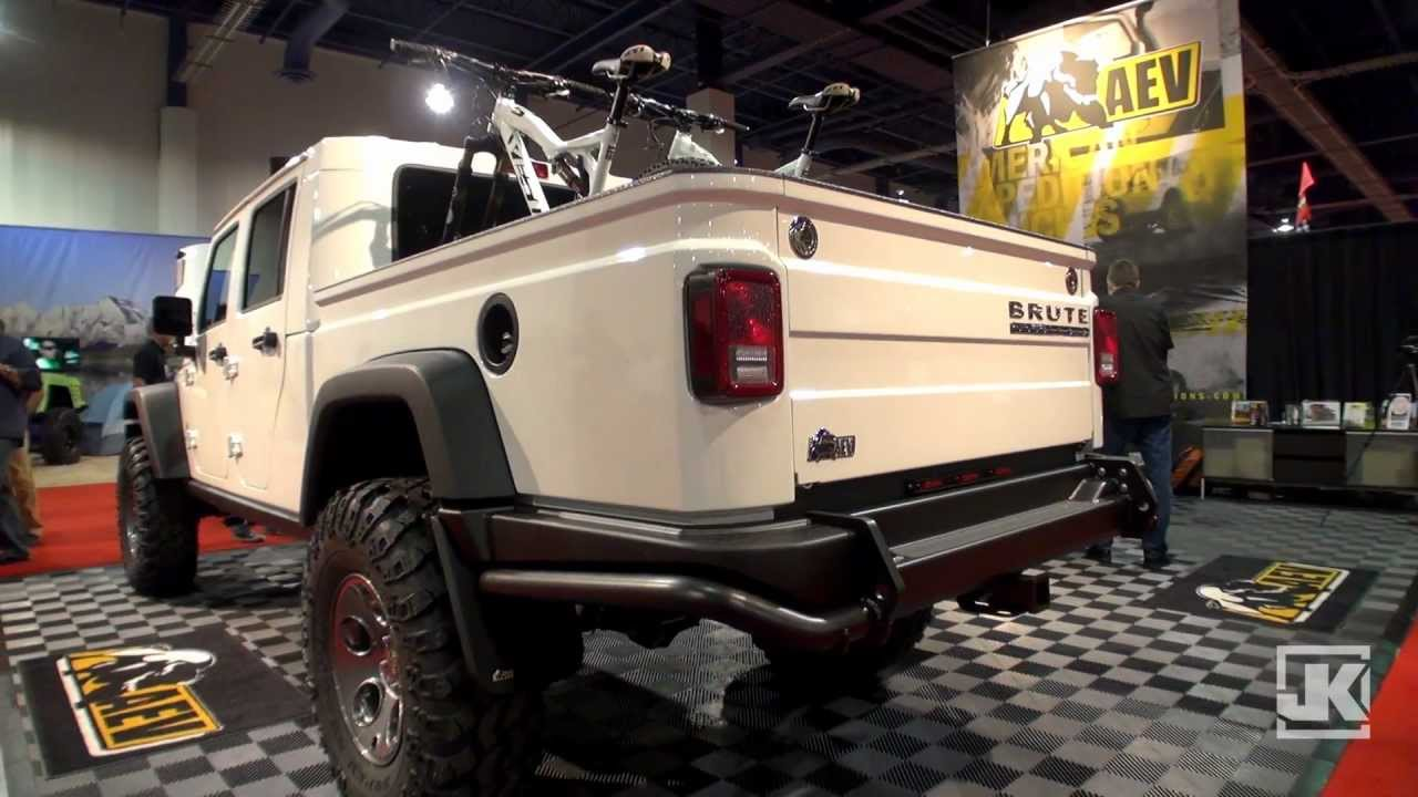 Project Jk 2011 Sema Show Spotlight Aev Brute Double Cab