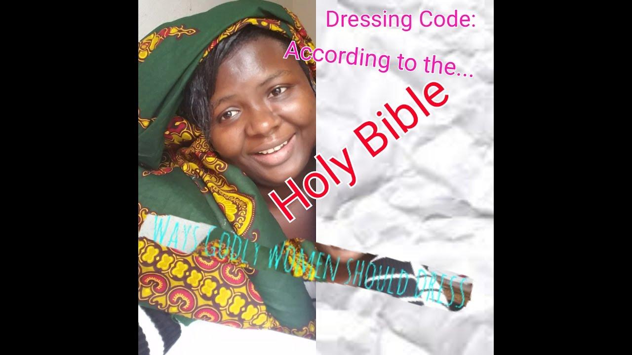 Women dressing in the bible