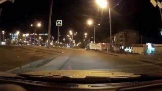 Полиция и поворот с пр. Гагарина на пр. Гагарина