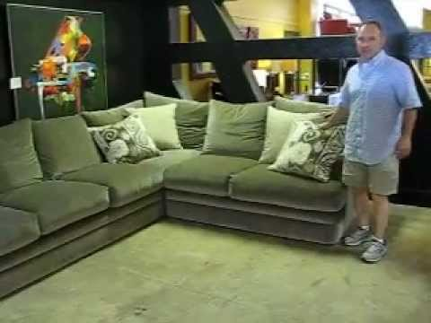 Robert-Michael-shelter-island-sectional.AVI : robert michael ltd sectional - Sectionals, Sofas & Couches