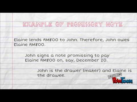 Promissory Notes - YouTube - promissory notes