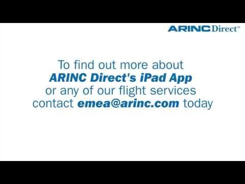 ARINC Direct Flight Planning iPad App Demo | Aviation Weather, File Flight Plans & APIS