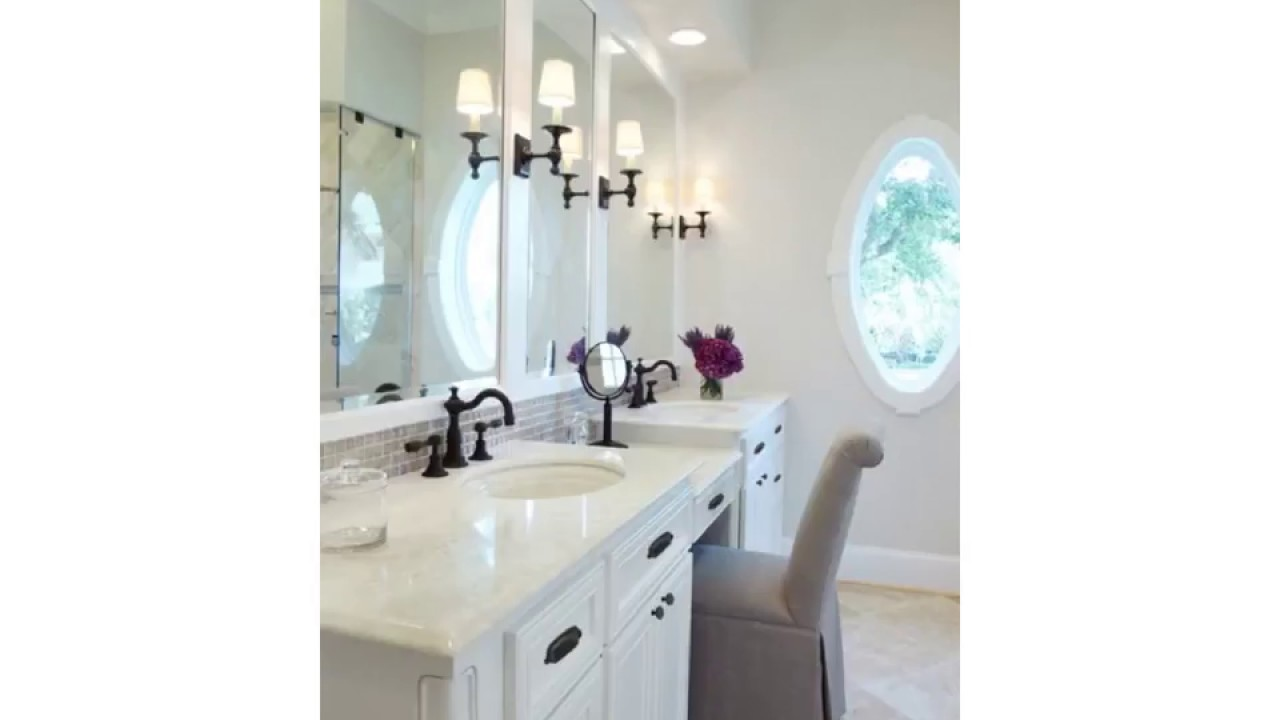 Bathroom Vanity Mirror Lighting Ideas - YouTube